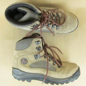 Merrell Eagle Boots Taupe Lace Up Hiking Trail 7.5